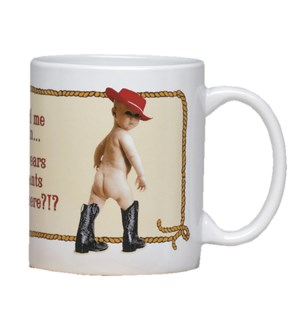 MUG/Baby in red hat