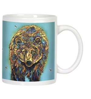 MUG/Bear colour in fur