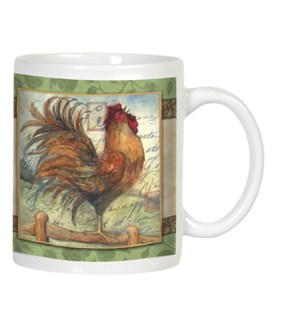 MUG/Rooster crowing