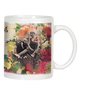 MUG/Older women flowers