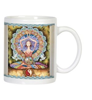 MUG/Mystical woman in yoga