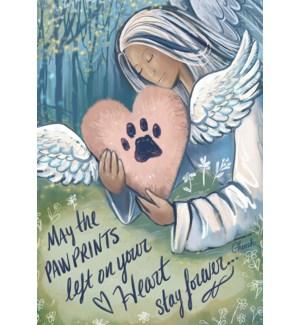 PSY/Angel print inside heart