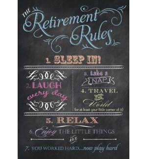 RT/Typography on chalkboard