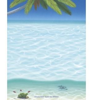 SMNOTEPAD/Dolphins swim