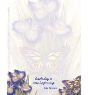 SMNOTEPAD/Blue irises