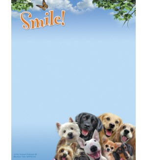 SMNOTEPAD/Dogs selfie