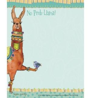SMNOTEPAD/Llama with bird