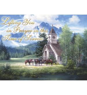 SY/Church with horses