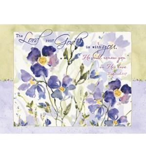 SY/Purple flowers