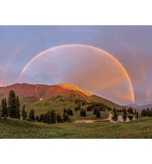 SY/Rainbow across mountains