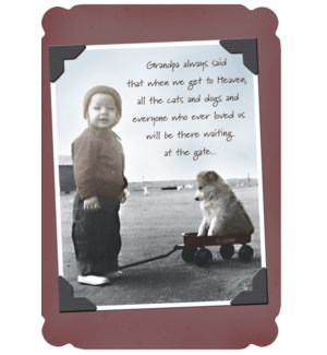 SY/Roger with his dog in wagon