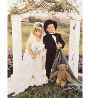 WD/Kid bride and groom
