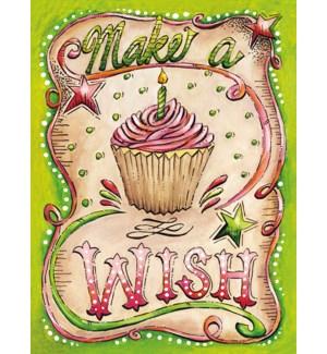 BD/Pink cupcake swirls stars