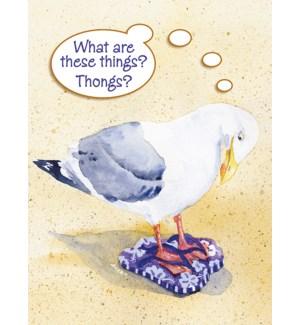 BD/Seagull in flip-flops