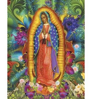 BD/Guadalupe praying in garden
