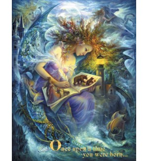 BD/Fairy holding story book