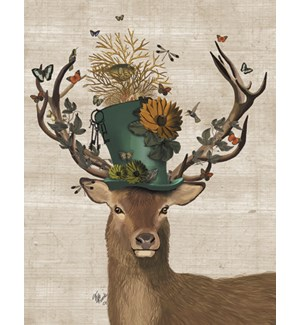 BD/Buck Deer wearing top hat