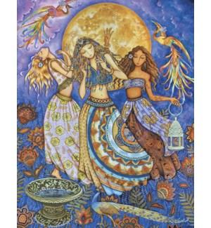 BD/Three goddesses dancing