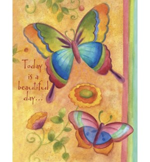 BD/Butterfly with flowers