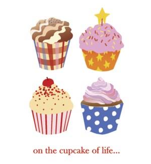 BD/Four cupcakes