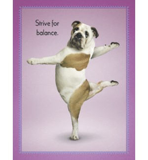 BD/Bulldog in yoga pose