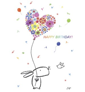 BD/Bunny with balloon