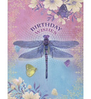 BD/Dragonfly with butterflies