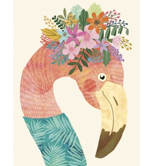 BD/Flamingo with flowers