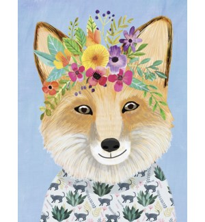 BD/Fox with flowers
