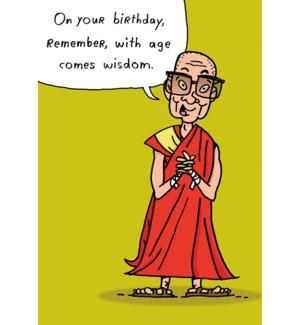 BD/Monk talking wisdom