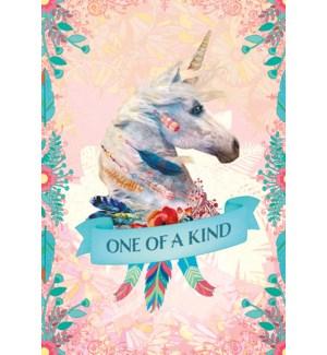 BD/Unicorn wearing feathers