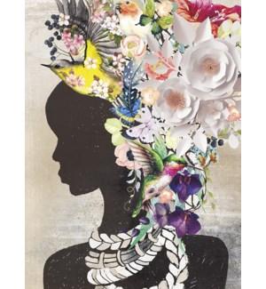 BL/Women w/flowers in hair