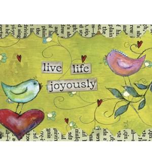 BL/Birds-Live Life Joyous