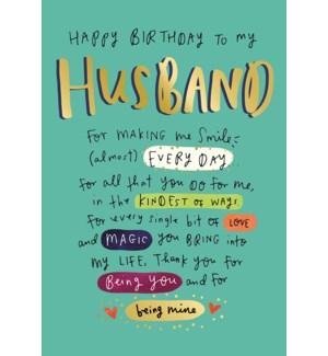 RBD/Happy News Husband