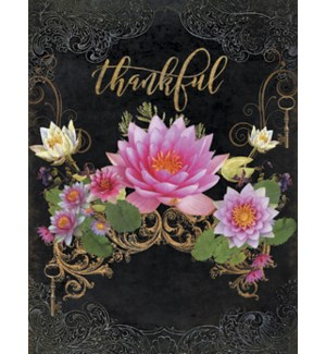 NOTECARD/Lotus flowers