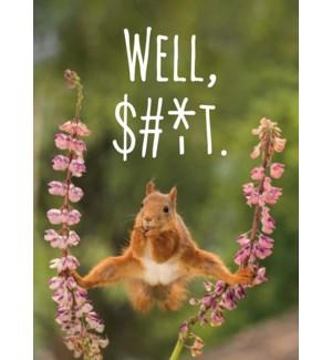 EN/Squirrel Between 2 Flowers