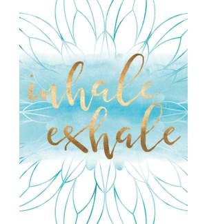 EN/Flower design with inhale