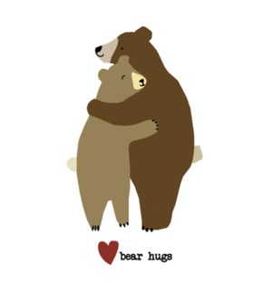 ENC/Two bears hugging