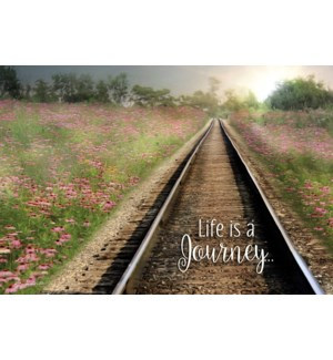 EN/Railroad tracks in distance