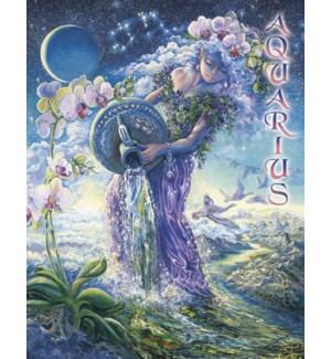 FR/Jo Wall Zodiac Aquarius