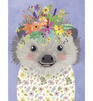 FR/Hedgehog with flowers
