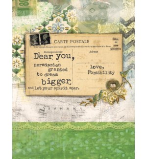 EN/Dear You postcard