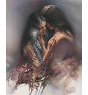RO/Man & woman caressing