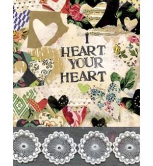 RO/Lots of fabric hearts