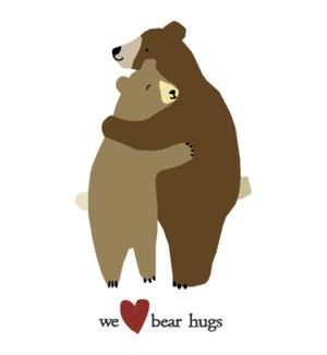 MAGNET/Two bears hugging