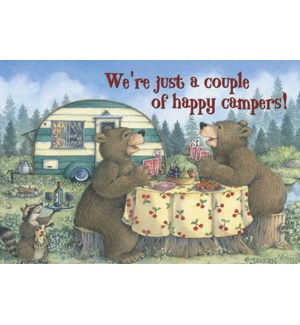 MAGNET/Bears playing card