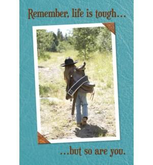 MAGNET/Cowgirl walking saddle