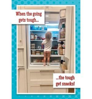 MAGNET/Girl in fridge