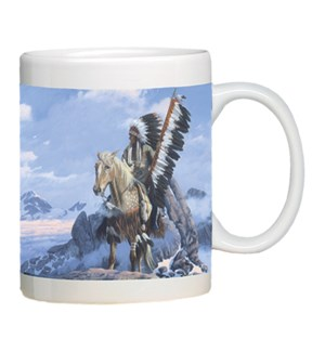 MUG/Chief on horse