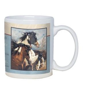 MUG/Two horses running